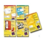 Avery 23524A Laser Labels, White 105 x 37,3 3200 stuksuk(s) etiket 3266557235242