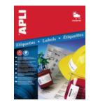 Apli 581226W Agipa Wetterfeste Folien-Etiketten, 64,6 x 33,8 mm, wit 8410782012269