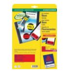 Avery L7263R L7263R-25 Rood 14 stuksuk(s) etiket 4004182608623