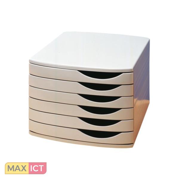 Atlanta ladenbox jalema 6ldn gesl grijs for Ladenblok durable varicolor