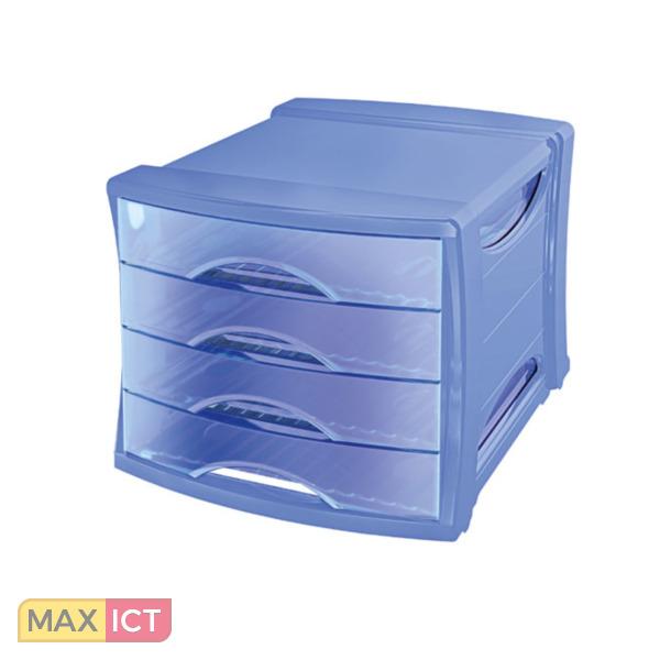 Esselte ladenblok solea blauw 623575 for Styrodoc ladenblok