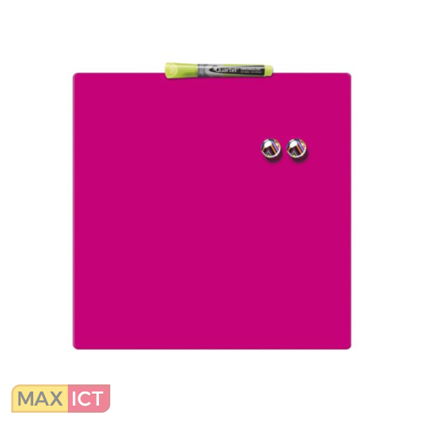 Quartet kensington magnetische droog for Ladeblok roze
