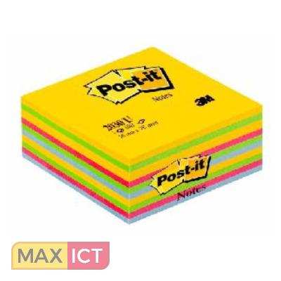 MaxOffice.nl — 3M 2030U Vierkant Blauw, Groen, Roze, Geel ...