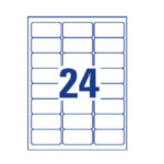 Avery L614120 L6141-20 Wit Zelfklevend printerlabel printeretiket 4004182059869