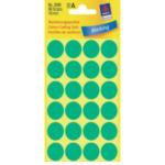 Zweckform 3306 Avery Gekleurde Markeringspunten, groen, Ø 18,0 mm, permanent klevend 4004182033067
