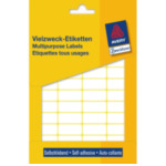 Zweckform 3319 Avery Mini Etiketten, wit, 29,0 x 18,0 mm, permanent klevend 4004182033197