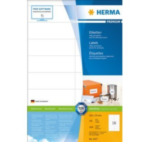 Herma 4427 Labels white 105x35 SuperPrint 1600 pcs. Wit Zelfklevend printerlabel 4008705044271