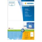 Herma 4676 Etiketten wit 105x148 Premium A4 400 st. 4008705046763