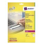 Avery L614620 L6146-20 Wit 480 stuksuk(s) etiket 4004182059845