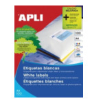 Apli 581283 Labels 38 x 21.2mm Wit 6500 stuksuk(s) etiket 8410782106265