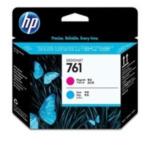 HP CH646A 761 magenta/cyaan DesignJet printkop 885631448212