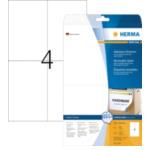 Herma 5082 Etiketten wit Movables/verwijd. 105x148 mm A4 100 st 4008705050821