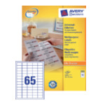Zweckform 3666 Avery General Usage Labels Wit 4004182036662
