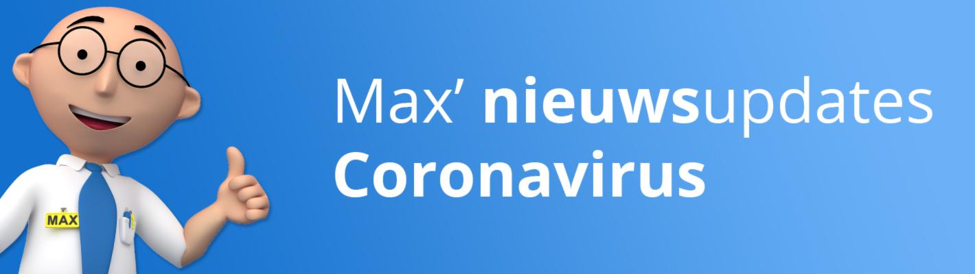 Max' nieuwsupdates Coronavirus