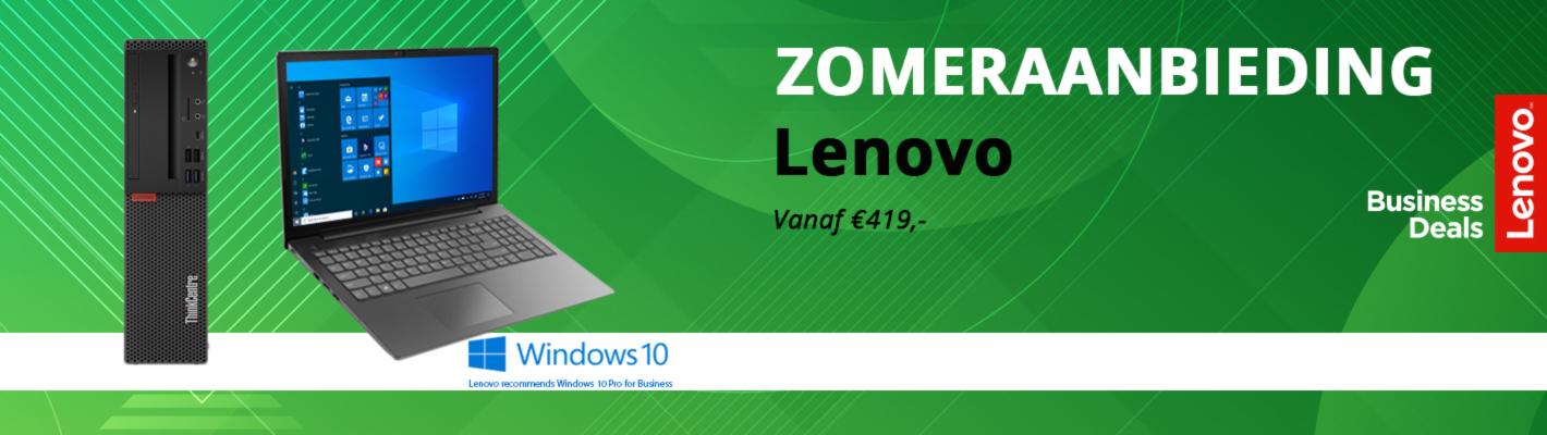 Lenovo zomeraanbieding