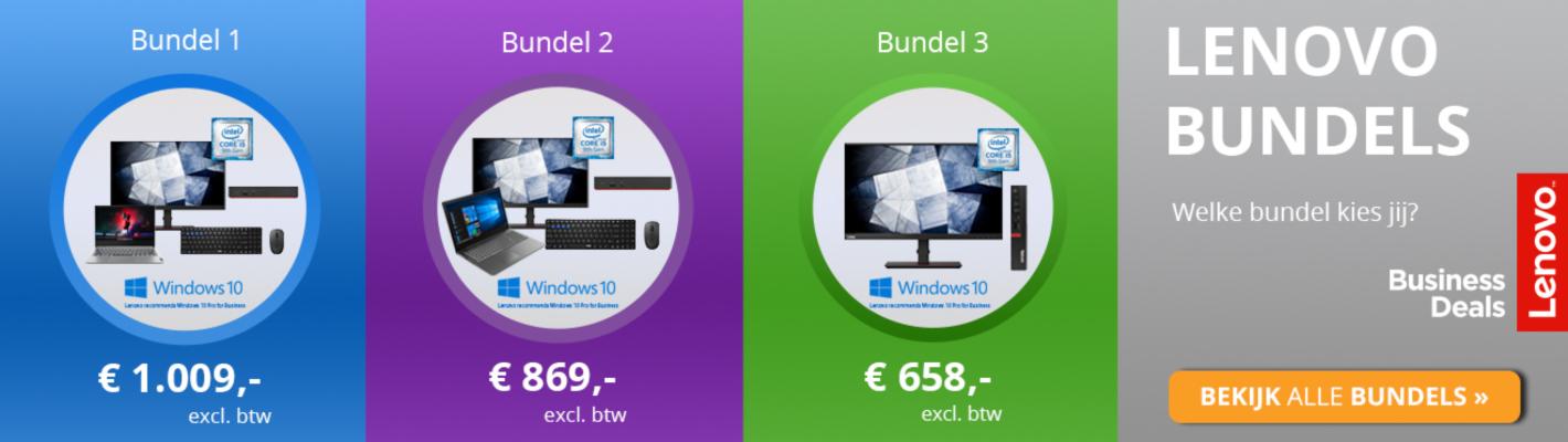 Lenovo Bundels