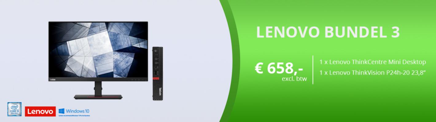 Lenovo bundel 3