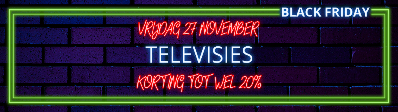 Black Friday - Televisies