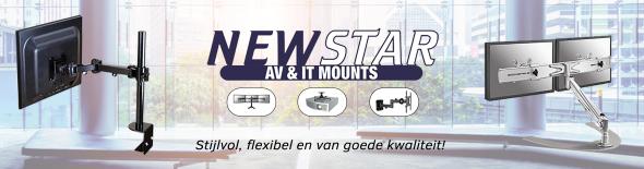 Optimaliseer uw werkplek met de ergonomische bureausteunen van NewStar