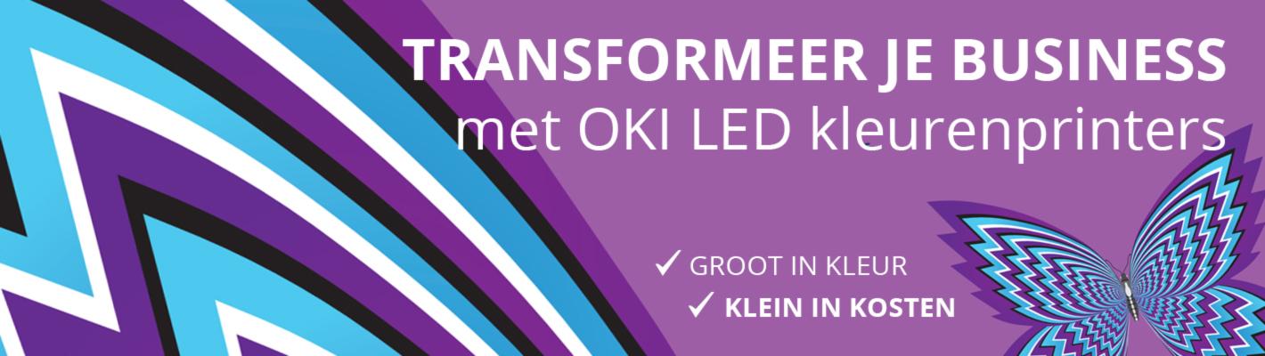 Ontdek OKI LEDkleurenprinters - groot in kleur - klein in prijs