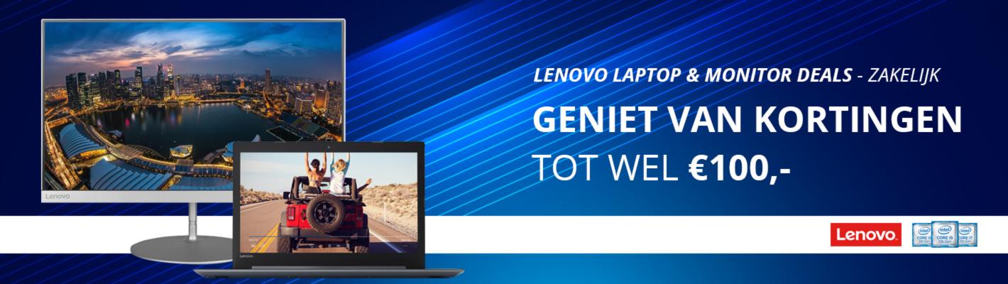 Lenovo laptop & monitoren deals