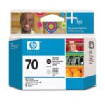 HP C9407A 70 fotozwarte/lichtgrijze DesignJet printkop 882780390782