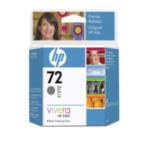 HP C9401A 72 69-ml Gray DesignJet Ink Cartridge inktcartridge Origineel Normaal rendement Grijs 735029215455