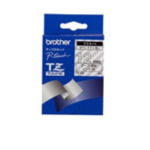 Brother TZ-135 Gloss Laminated Labelling Tape - 12mm, White/Clear TZ labelprinter-tape 4977766053624