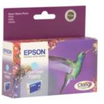 Epson C13T080540 Hummingbird T0805 Light Cyan Ink Cartridge inktcartridge Origineel Lichtyaan 8715946330044