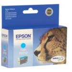 Epson C13T071240 Cheetah T0712 Origineel Cyaan 735029103639