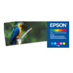 Epson C13T008401 Parrot Ink Cartridge 5 colour f StylusPhoto 790/870/875DC/895 Origineel Cyaan, Lichtyaan, Lichtmagenta, Magenta, Geel 5052217069955