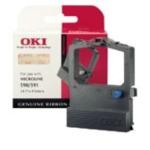 Oki 40107101 Colour Nylon Ribbon printerlint Zwart, Cyaan, Magenta, Geel 5031713915812