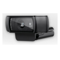 Logitech HD Pro Webcam C920 - Web-Kamera - Farbe - 1920 x 1080 - Audio - USB2.0 - H.264 (960-000767) (960-000767)