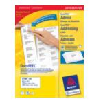 Avery L7160-250 Address Label - Laser 250 Sheets 63.5 x 38.1 Wit 5014702810268