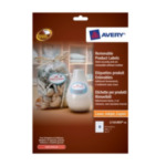 Avery L7101REV-20 Removable Product Labels Wit 4004182051726