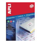 Apli 581280 Labels 105 x 148mm Wit 400 stuksuk(s) etiket 8410782012801