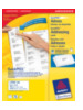 Avery Address Label - Laser 63.5 x 33.9 mm Wit