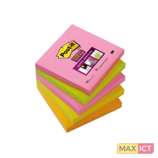 MaxOffice.nl — 3M 654S-N Multi kleuren 5 stuksuk(s) etiket ...