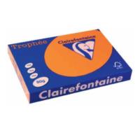 Clairefontaine Papier Clairefontaine Trophée A3 A3 (297×420 mm) Oranje papier voor inkjetprinter (1762C)
