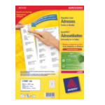 Avery L7160-100 Address Label - Laser 100 Sheets 63.5 x 38.1 Wit 3266550260210