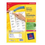 Avery L7163-100 L7163-100 Wit adreslabels 3266550260142