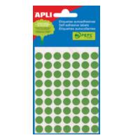 Apli Gekleurde etiketten in etui groen (2074) (581174)