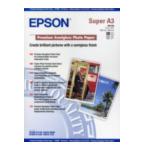 Epson C13S041328 Premium Semigloss Photo Paper, DIN A3+, 250g/m², 20 Vel 010343829930