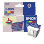 Epson C13T052040 3 Colour Ink Cartridge Origineel Cyaan 8715946356228