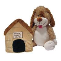 Happy Nappers Knuffel en kussen in 1 Happy Napper Hond (HAN006)