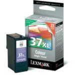 Lexmark 18C2180E Nr. 37XL hg rendem. retourprogr. kleuren inktcartr. 734646965033