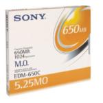 Sony EDM650N EDM650 magneto optical-schijf 2724249344500