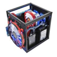 ThermalTake Core V1 kubus Zwart computerbehuizing (CA-1B8-00S1WN-00)