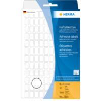 Herma Universele etiketten 8x12mm wit voor handmatige opschriften 3840 St. (2310)