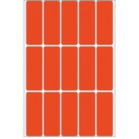 Herma Universele etiketten 20x50mm rood voor handmatige opschriften 480 St. (2412)